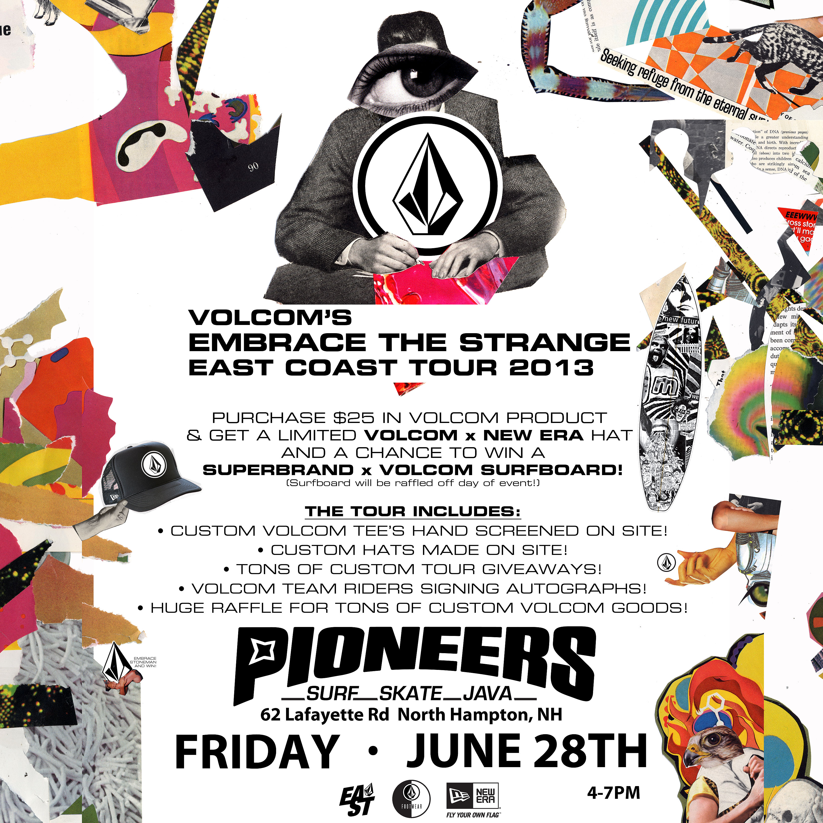 Italian Florence: VOLCOM EMBRACE THE STRANGE TOUR THIS FRIDAY!!! WILL YOU BE