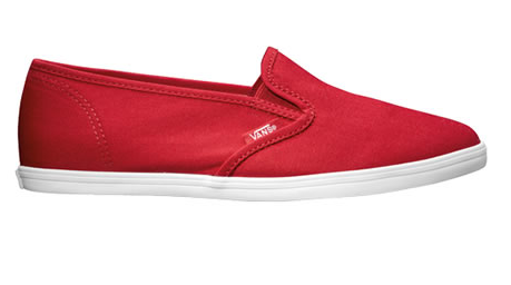 vans shoes for women red