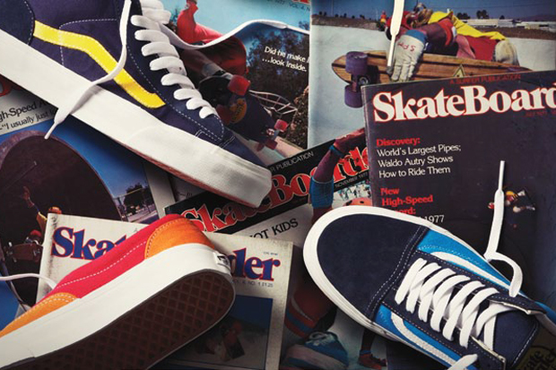 399731730f Pioneers Board Shop » SKATEBOARDER MAGAZINE X VANS COLLABORATION